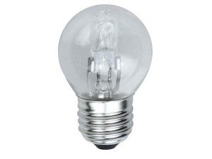 G45 Halogen Bulb 33 Watt (40 Watt) ES/E27 Edison Screw Box 1