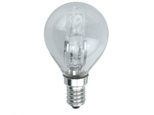 G45 Halogen Bulb 33 Watt (40 Watt) SES/E14 Small Edison Screw Box 1