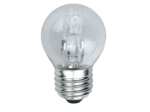 G45 Halogen Bulb 48 Watt (60 Watt) ES/E27 Edison Screw Box 1