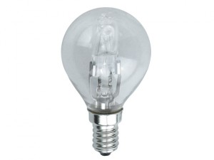 G45 Halogen Bulb 48 Watt (60 Watt) SES/E14 Small Edison Screw Box 1