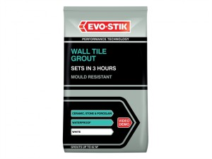 Wall Tile Grout Mould Resistant White 500g