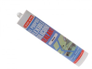 112872 All Purpose Flex Silicone Sealant Black C20