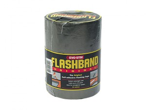 Flashband Roll Grey 75mm x 10m