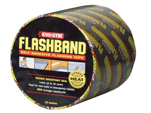 Flashband Roll Grey 150mm x 10m