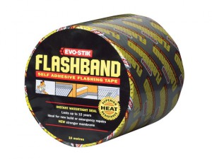 Flashband Roll Grey 50mm x 10m