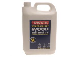 718418 Weatherproof Wood Adhesive 5 Litre
