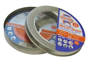 Multi-Cut Cutting Discs 115 x 1.0 x 22mm (Pack of 10)