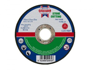 Stone Cut Off Disc 115 x 3.2 x 22mm
