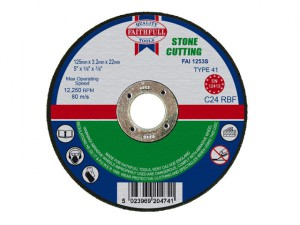 Stone Cut Off Disc 125 x 3.2 x 22.23mm