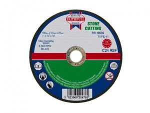 Stone Cut Off Disc 180 x 3.2 x 22.23mm