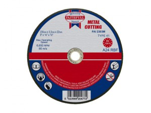 Metal Cut Off Disc 230 x 3.2 x 22.23mm