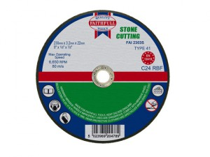 Stone Cut Off Disc 230 x 3.2 x 22mm