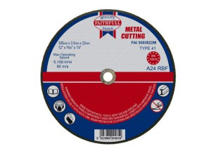 Metal Cut Off Disc 300 x 3.5 x 22mm