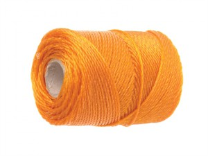 3100 Polyethylene Brick Line 100m (328ft) Orange