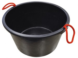 Builders Bucket Black 40 Litre (9 Gall)