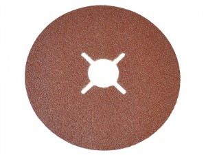 Resin Bonded Fibre Disc 100mm x 16mm x 24g (Pack of 25)