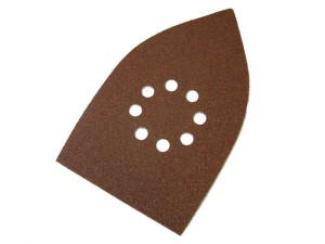 Multi-Sander Sheets Hook & Loop Coarse Grit (Pack 5)