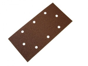 1/3 Sanding Sheet Red B/D Perforated Assorted (Pack of 5)