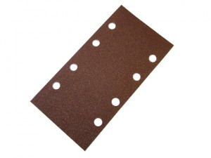 1/3 Sanding Sheet Red Bosch Clip Holed Assorted (Pack of 5)