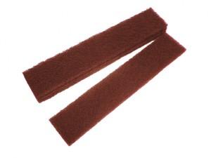 Abrasive Plumb Strips Maroon Assorted 50 x 250mm (6)