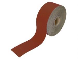 Aluminium Oxide Sanding Paper Roll Red Heavy-Duty 115mm x 50m 40G