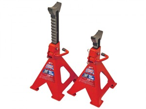 Axle Stands Quick Release Ratchet Adjustment 6000kg