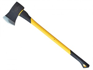 Felling Axe Fibreglass Handle 1.6kg (3.1/2lb)