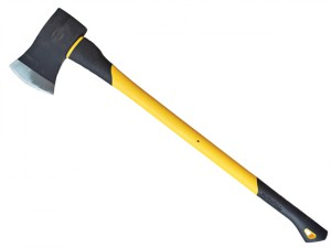 Felling Axe Fibreglass Handle 2.0kg (4.1/2lb)