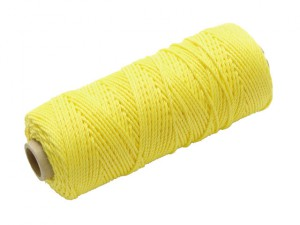 Hi Vis Nylon Brick Line 105m (344ft) Yellow