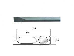 Chisel 450mm Bosch / Hitachi Shank
