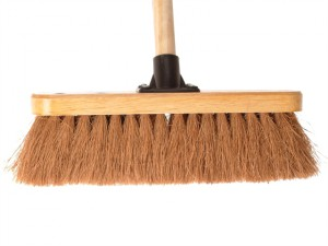 Broom Coco 30cm (12in) Head with 48in Handle