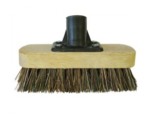 Deck Scrub Broom Head 175mm (7in) Threaded Socket