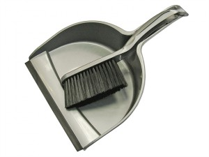 Dustpan & Brush Set Plastic (220mm)