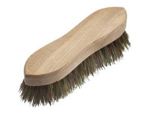 Hand Scrubbing Brush 200mm (8in) Unvarnished