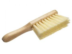 Hand Brush Soft Cream PVC 275mm (11in)