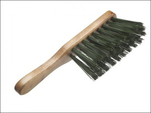 Hand Brush Stiff Green PVC 275mm (11in)