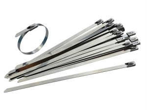 Stainless Steel Cable Ties 7.9 x 360mm (Pack of 50)