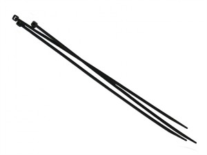 Cable Ties Black 250mm x 4.8mm Pack of 100