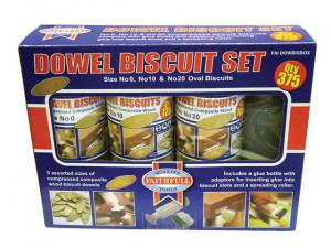 Biscuit Wood Kit (150 x No.0, 125 x No.10, 100 x No.20)