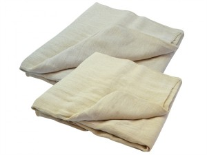 Cotton Twill Multi Purpose Dust Sheet Twinpack