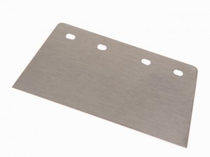 Floor Scraper 4 Hole Blade Heavy-Duty 200mm (8in)