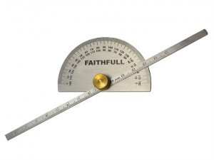 Depth Gauge with Protractor 150mm (6in)