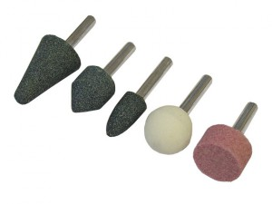 Mounted Grinding Stones Set 5 Piece