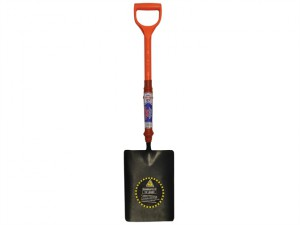 Taper Mouth Shovel Fibreglass Insulated Shaft YD