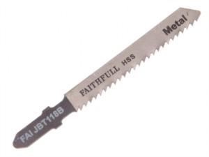 Metal Cutting Jigsaw Blades Pack of 5 T118B