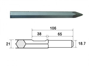 Point 380mm Kango Shank (914112)