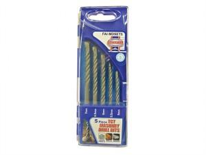 Standard Masonry Drill Set of 5 5-7mm