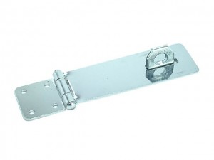 Zinc Plated Hasp & Staple 115mm