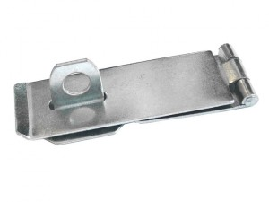 Zinc Plated Hasp & Staple 75mm