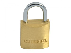 Brass Padlock 20mm 3 Keys